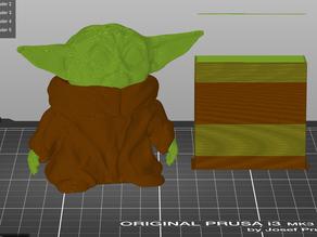 Multi Material Ready Baby Yoda