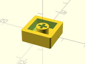 Apple 2e Reset Keycap with Cherry MX Base
