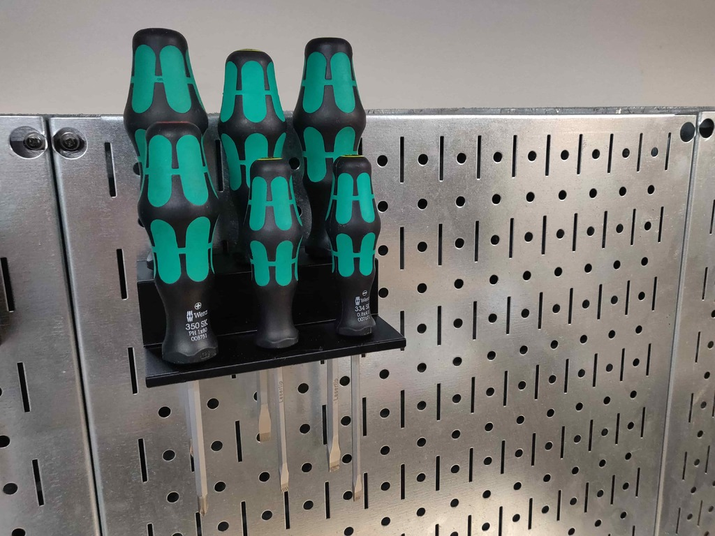 Screwdriver Holders for Wera Screwdrivers (05007680001 and 347903)