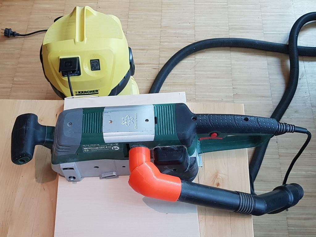 Ball and Socket Vac Adapter