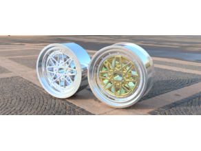 MiniZ One and two piece Drift wheels and Fusion Files.