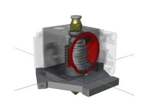Fan duct for heat sink of FLSUN QQ series