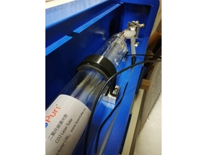K40 Laser tube clamp