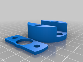 Anti-wobble design for Lulzbot Taz 6, Taz Pro (With Lead Screw Mod Only) Low Profile