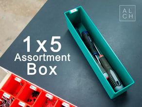 ASSORTMENT SYSTEM BOX 1x5