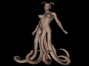 Girl Octopus