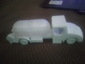 Propane Truck desk toy