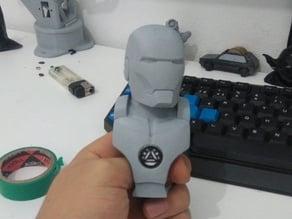 Iron man Bust Add Arc Reactor