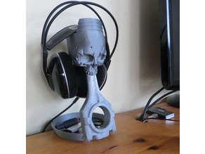 Skull Headphone Stand