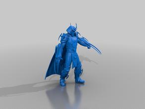 Shredder Statue