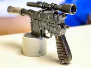Blaster DL-44 Han Solo with Mechanics and space for electronics