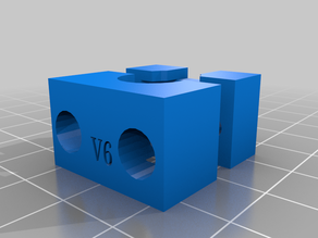 Upgraded V6 - Adapter - Hydra CR10 Fan Duct