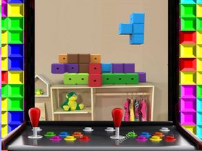 T-TRIX - PIEZAS DE TETRIS ENSAMBLABLES (assembled tetris pieces)
