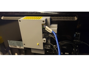 Raspberry Pi 4 VESA case w/ HDD/ SSD compartment