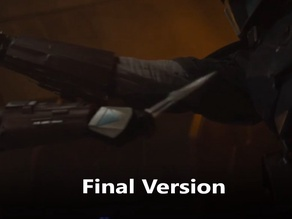The Mandalorian Vibro Blade V2