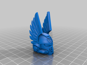 Dark Angel Helm For McFarlane Figure