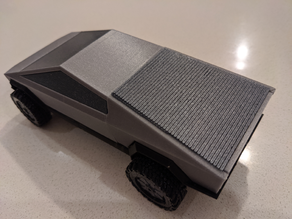 Cybertruck bed cover - articulated