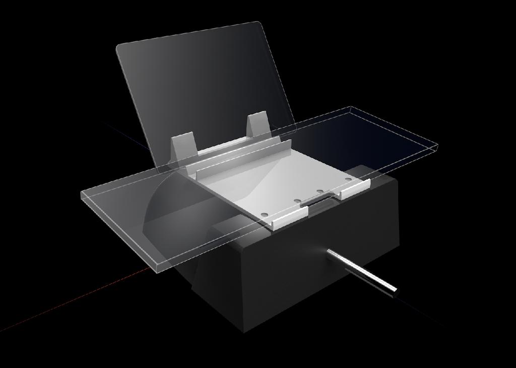 Honeycomb Alpha iPad and Keyboard stand