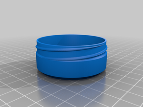 My Cucontainerstomized Container with Knurled Lid