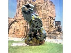 Idol of Mork - Ork / Goblin Stone Golem