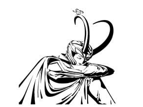 Loki stencil