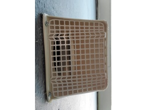 Critter cover for 4 inch vent