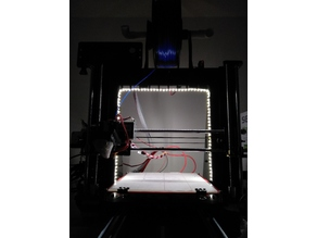 Stylish LED Light for Geeetech i3