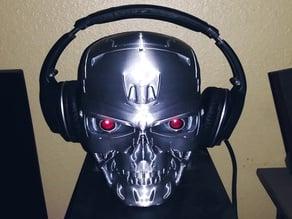 T-800 Skull headphone stand