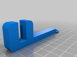 anet a 8 filament spool holder basic