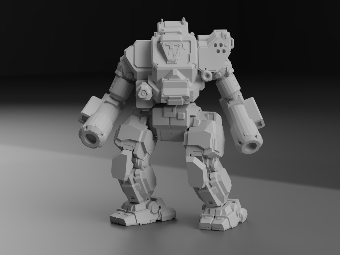 """ON1-P Orion """"Protector"""" for Battletech"""