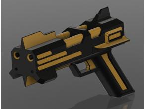 redline pistol of Sonoshee cherry boy hunter