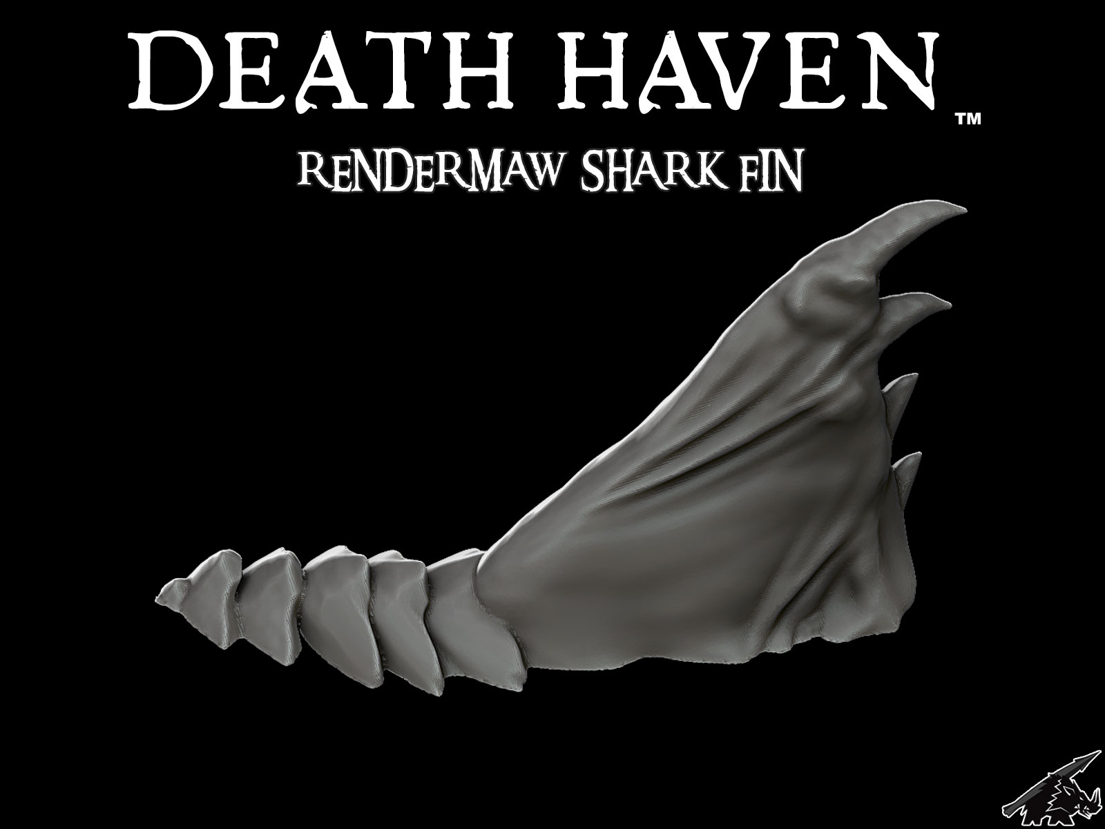 DEATH HAVEN RenderMaw Shark Fin (JOIN the PATREON)
