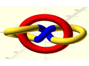 Parametric whitehead link