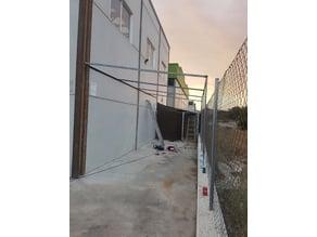 Lattice roofing tooling