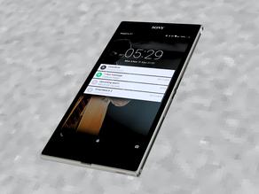 Model - Sony Z Ultra