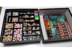 Descent 2nd Edition Modular Insert ALL Expansions in Core Box. Dice, Books, Cards and Tokens