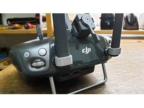 DJI Controller RC Antenna Clamp - Floppy antenna fix