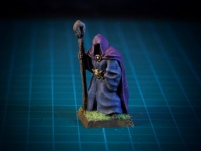Hooded Stranger 28mm (No supports, FDM)