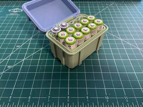 AA Battery Storage Box