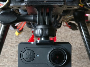 Action Cam and GoPro Camera Holder and Screw Mount
