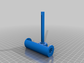 Toothpaste Tube Roller - Improved with longer shaft and bigger knob