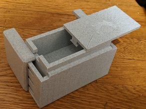 Puzzle Box || Easy Print, Hard Solution