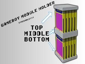 Stackable Gameboy Cartridge Holder