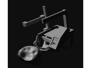 Printer3D beating Vase Robert Plant (Impressora batendo vasinho da discórdia)