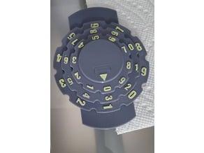 Life Tracker (0-999) (3 Dials)