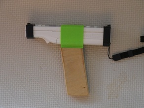 Wii light gun grip and sights