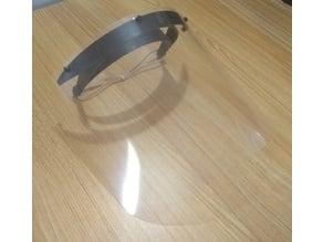 Protective Face Shield Headband