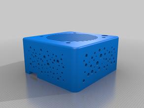 Totally minimalistic Orange pi Zero case to fit 40mm fan inside