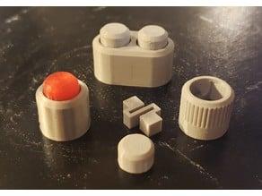 Decorative Push Button - No Supports
