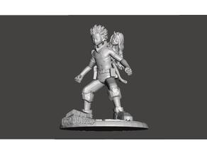 Deku (Izuku Midoriya) - One for All 100% - With Eri - Figure / Statue